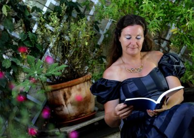 Beatrice Pary, jardin